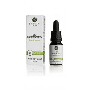 BioBloom - Bio Hanftropfen - 6% - 10ml