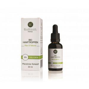 BioBloom - Bio Hanftropfen - 8% - 30ml