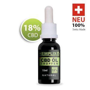 Hemplix CBD Öl 18%