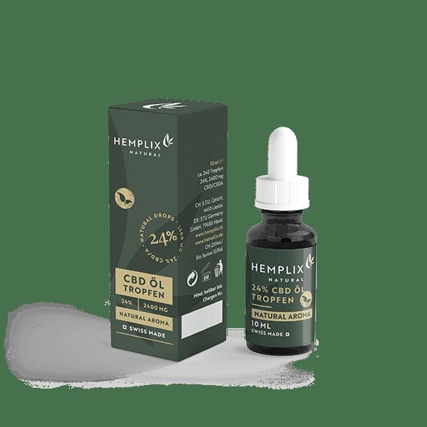 Hemplix - CBD Öl - 24% - 10ml