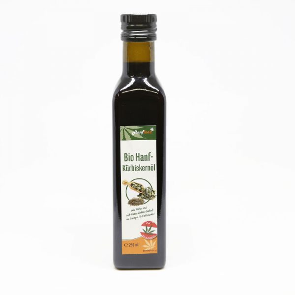 Bio Hanf-Kürbiskernöl