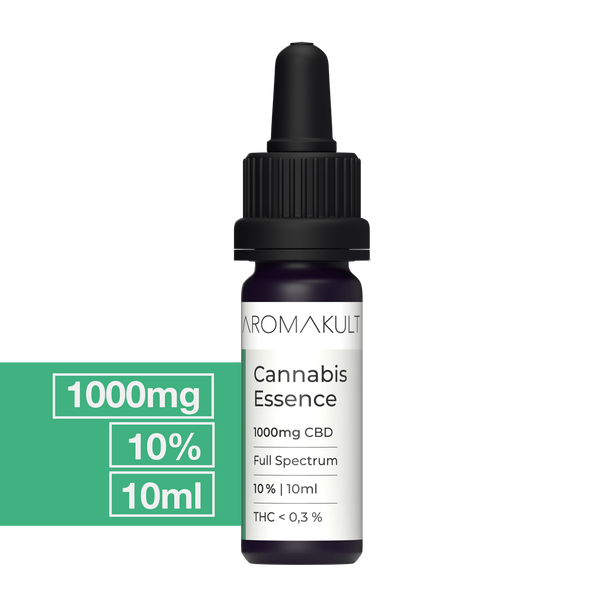Aromakult CBD Öl - Full Spectrum - 10% - 10ml