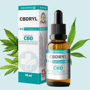 Biocannovea - wasserlösliches CBD 5% - CBDRYL