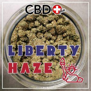 "CBD Blüten - 1g - ""Liberty Haze"" - 13% CBD - Indoor"